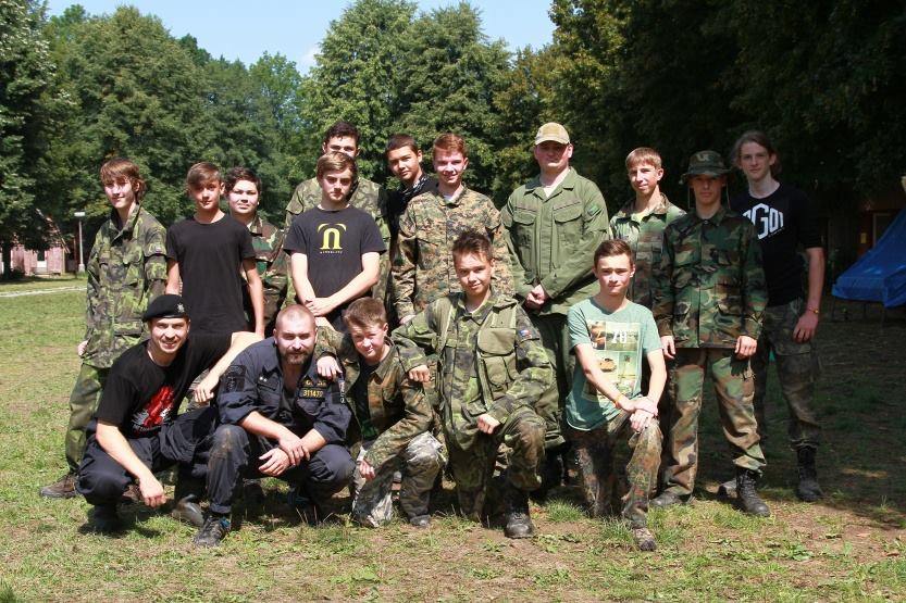 Oddíl Airsoft tábora 2015