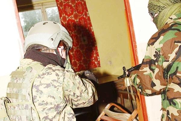 CQB - nácvik taktiky pro boj v budovách